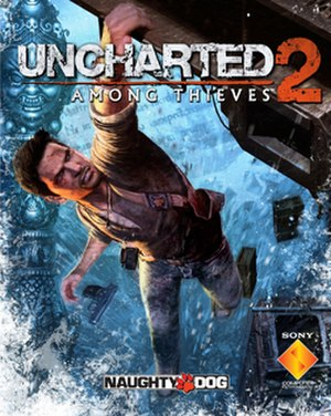 Uncharted 2: Among Thieves - Image: Uncharted 2 box artwork