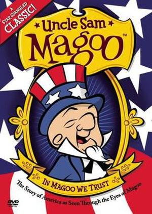 Uncle Sam Magoo - DVD cover