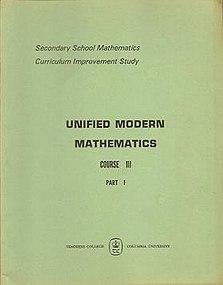 Secondary School Mathematics Curriculum Improvement Study