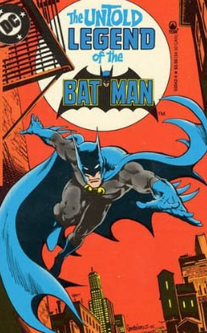 The Untold Legend of the Batman - Cover of the paperback edition. Art by José García-López and Dick Giordano