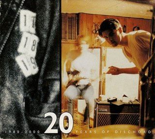 <i>20 Years of Dischord</i> 2002 box set by various artists