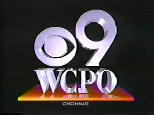 WCPO-TV - WCPO station identification in 1991, while the station was a CBS affiliate.