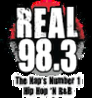 WZRL - Image: WZRL Real 98.3 logo