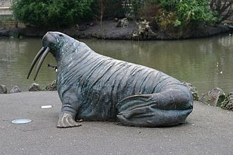 City of Sunderland -  The Walrus in Mowbray Park, Sunderland