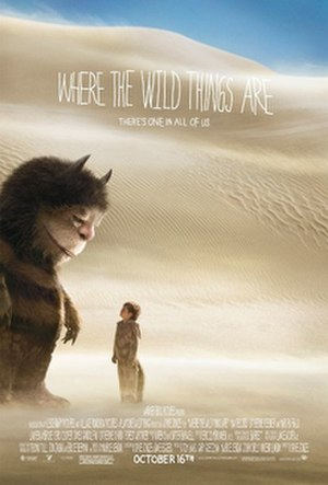 Where the Wild Things Are (film) - Theatrical release poster