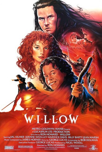 Willow (film) - Theatrical release poster by John Alvin