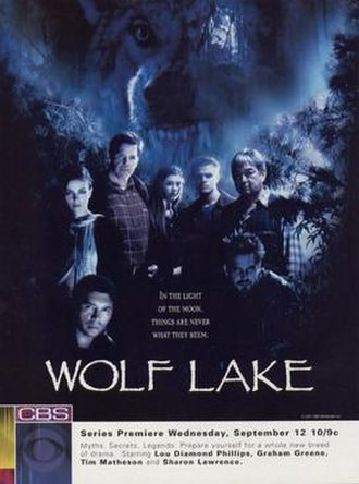 Wolf Lake - A poster promoting the launch of the series.