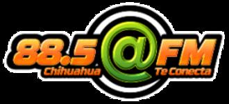 XHDI-FM - Image: XHDI arrobafm 88.5 logo