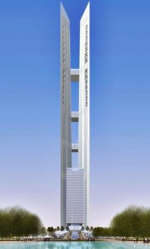 102 Incheon Tower - Proposed Rendition of the Incheon Tower