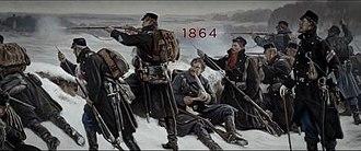 1864 (TV series) - Image: 1864 TV titlecard