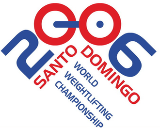 2006 World Weightlifting Championships - Image: 2006 World Weightlifting Championships logo