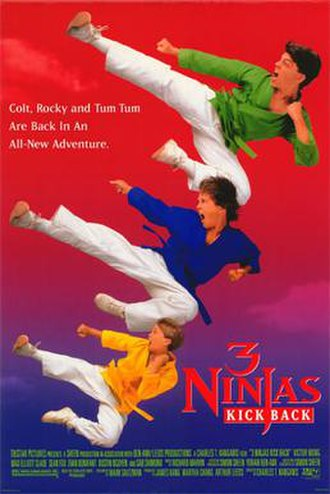 3 Ninjas Kick Back - Theatrical release poster