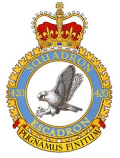 No. 420 Squadron RCAF Former Royal Canadian Air Force squadron