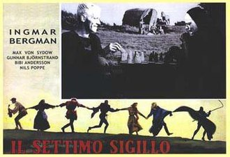 Culture of Sweden - Poster for The Seventh Seal