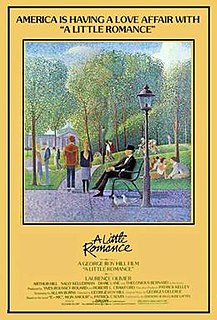 <i>A Little Romance</i> 1979 film by George Roy Hill