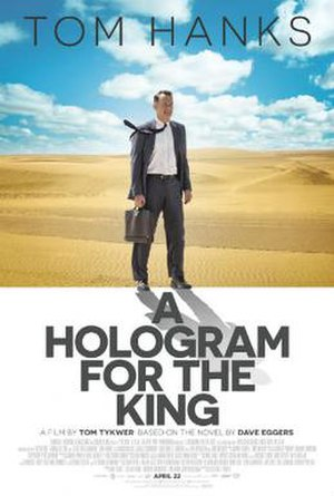 A Hologram for the King (film) - Theatrical release poster