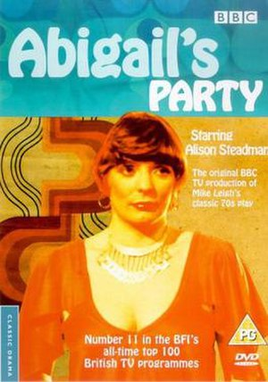 Abigail's Party - Abigail's Party UK DVD cover