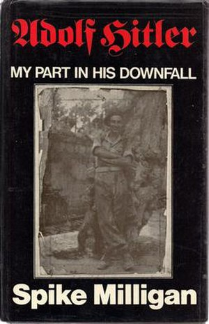 Adolf Hitler: My Part in His Downfall - Front cover of the 1971 first hardback edition