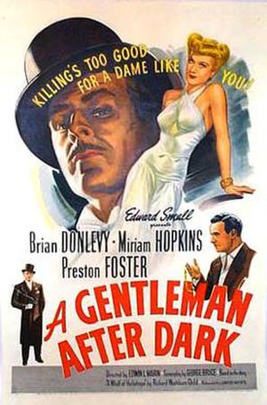 A Gentleman After Dark - Image: Agentlemanafterdark