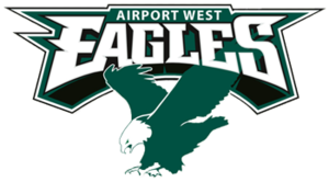Airport West Football Club - Image: Airport west eagles fc logo