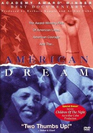 American Dream (film) - DVD cover