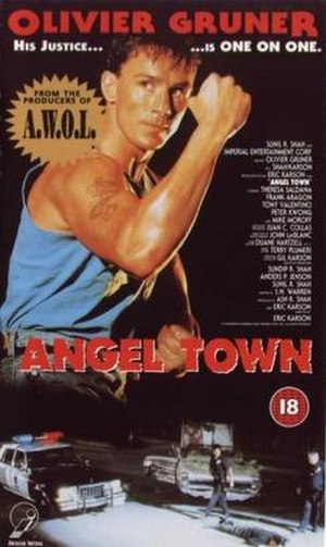 Angel Town (film) - Image: Angel town movie cover
