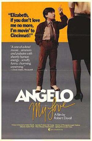 Angelo My Love - Film poster