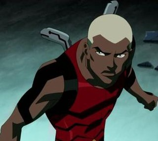 Kaldurahm one of two fictional superheroes codenamed Aqualad in stories published by DC Comics