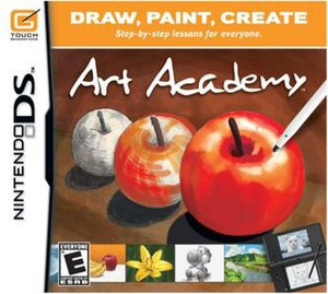 Art Academy (video game) - North American DS box art