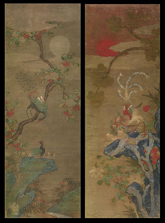 File Artist Maker Unknown Korean Pair Of Bird And