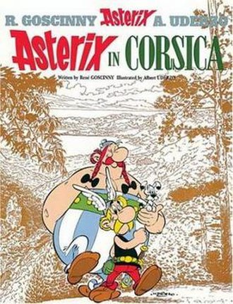 Asterix in Corsica - Image: Asterixcover 20