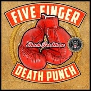 Back for More (Five Finger Death Punch song) - Image: Back For More 5FDP Cover Art