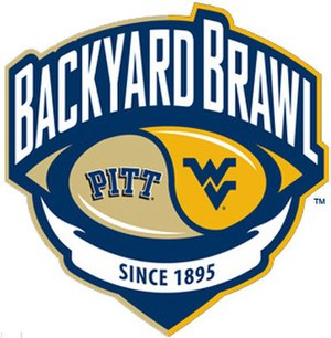 Backyard Brawl - Image: Backyard Brawl logo