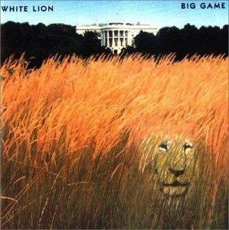Big Game (album) - Image: Big Game (White Lion album cover art)