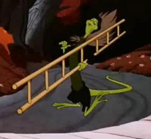 Bill the Lizard - Bill as he appears in the 1951 Disney film.