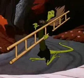 Bill the Lizard - Bill as he appears in the 1951 Disney film.