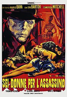 <i>Blood and Black Lace</i> 1964 film by Mario Bava