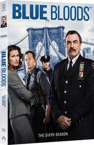 Blue Bloods (season 6) - Image: Blue Bloods S6 DVD