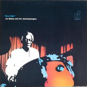 Blue Night (Art Blakey album) - Image: Blue Night (Art Blakey album)