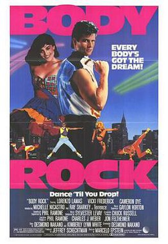 Body Rock - Theatrical release poster