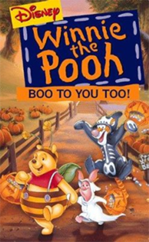 Boo to You Too! Winnie the Pooh - Boo to You Too! Winnie the Pooh VHS cover.