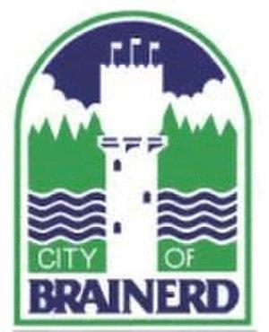 Brainerd, Minnesota - Image: Brainerdlogo
