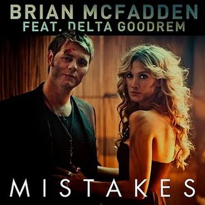Mistakes (Brian McFadden song) - Image: Brian & Delta