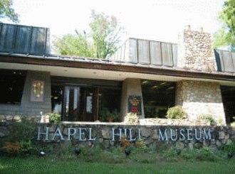 Chapel Hill Museum - Former museum facade