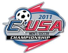 CUSA Men's Soccer Tournament Logo 2011.png