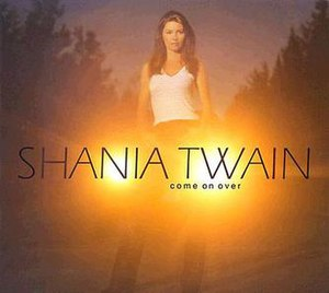 Come On Over (Shania Twain song) - Image: Come on over (single cover)