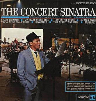 The Concert Sinatra - Image: Concertsinatracover