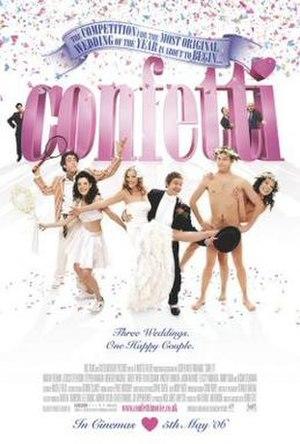 Confetti (2006 film) - Theatrical release poster