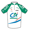 Crédit Agricole (cycling team) jersey
