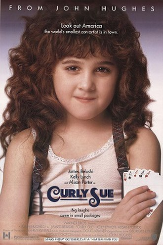 Curly Sue - Theatrical release poster